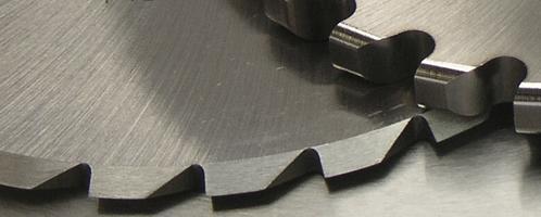 Řezné kotouče pro gumárenský průmysl